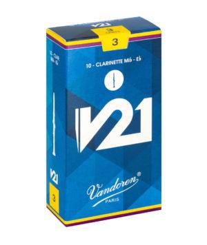 CAJA DE CAÑAS VANDOREN V21 PARA CLARINETE REQUINTO