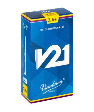 CAJA DE CAÑAS VANDOREN V21 PARA CLARINETE SI b