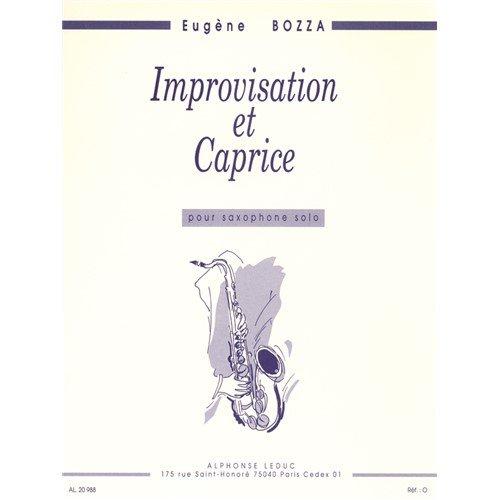 ImprovisationetCaprice(1952). Bozza, Eugene