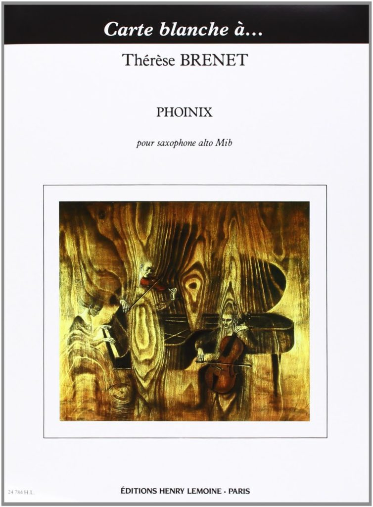 Phoinix(1984). Brenet,Therese