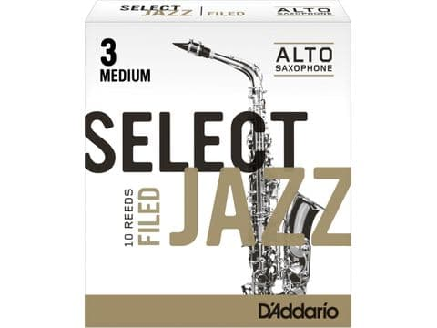CAJA DE CAÑAS D'ADDARIO SELECT JAZZ FILED PARA SAXOFÓN ALTO