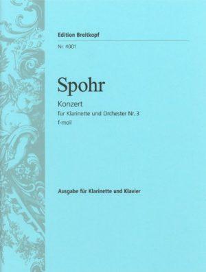 Concerto para clarinete No.3. Louis Spohr (Beitkopf)