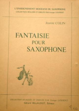 Fantaisieop.27(1978). Jeanne Colin