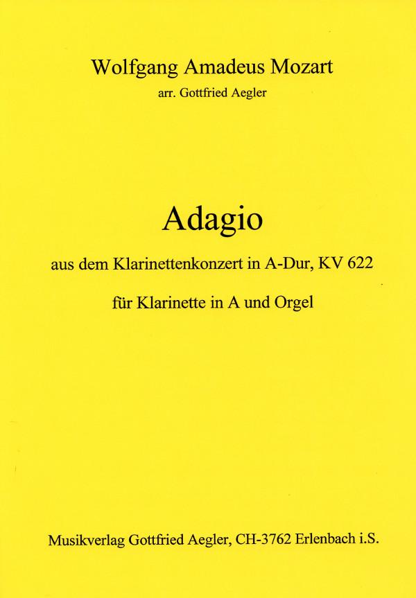 AdagioausdemKlarinettenkonzertinA-DurKV622para clarinete en A. WolfgangAmadeusMozart