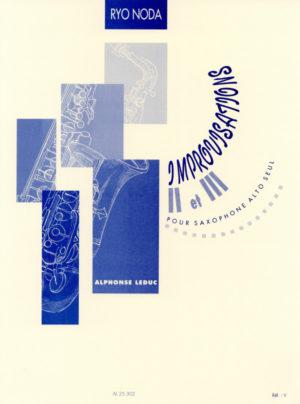 Improvisación I(1972/73)para saxofón alto