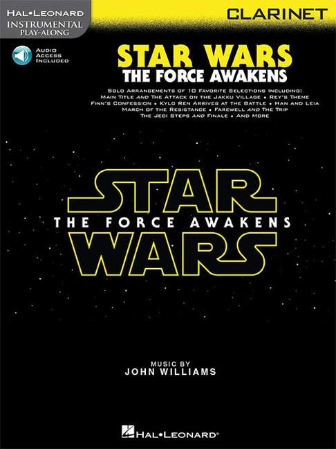 Star Wars. The Force Awakens para clarinete. John Williams