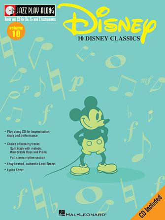 10DisneyClassics. JazzPlayAlong10