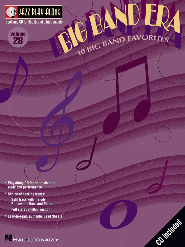 JazzPlayAlongVol.28:BigBandEra,10Favorites. JazzPlayAlong28