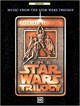 Music from 'The Star Wars Trilogy' para saxofón alto solo. John Williams