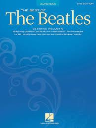 TheBestoftheBeatlespara saxofón alto solo. Beatles
