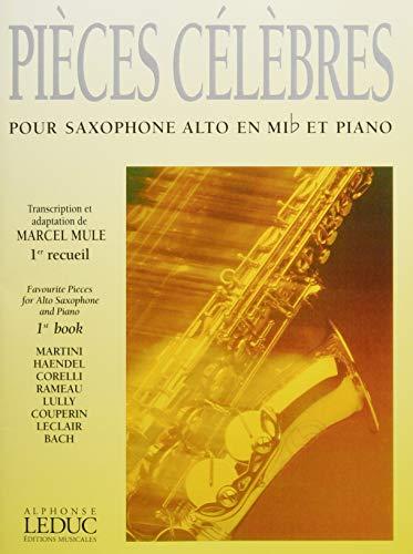 PiecesCelebresVolume1para saxofón alto y piano. MarcelMule