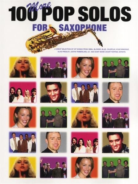 100MorePopSolospara saxofón.Una gran selección de éxitos de PopSolos