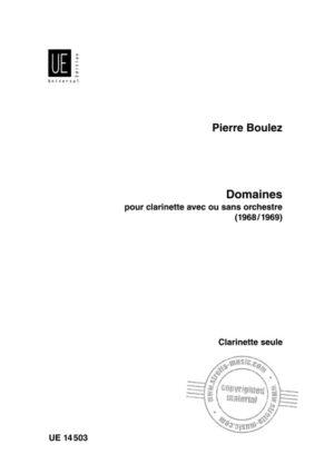 Domaines(1968/1969)Pierre Boulez