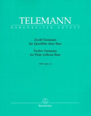ZwölfFantasien,para saxofón solo (originalmente para flauta). GeorgPhilipp Telemann