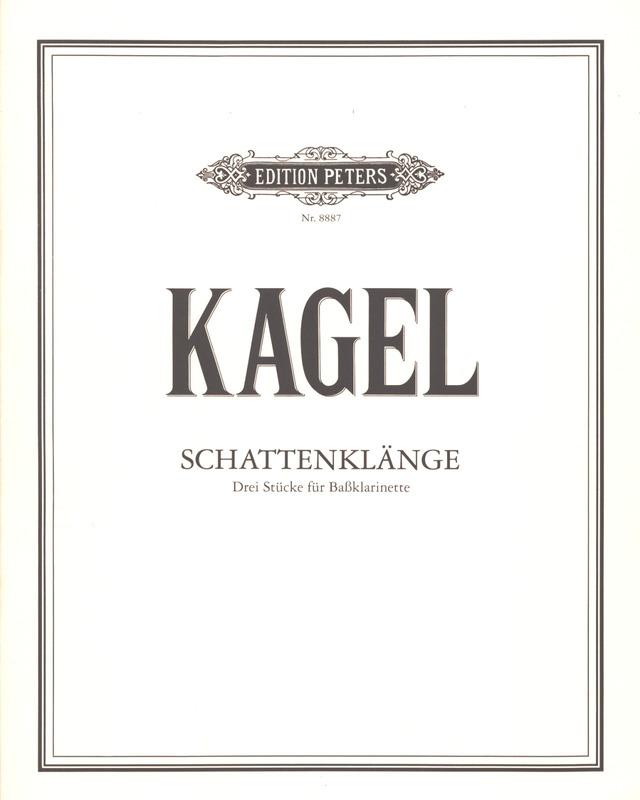 Schattenklänge. 3 piezas. Mauricio Kagel