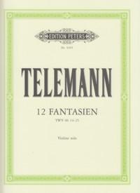 12FantasienTWV original para flauta solo. GeorgPhilippTelemann