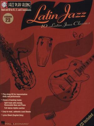 JazzPlayAlongVol.23:10LatinJazzClassics. JazzPlayAlong23
