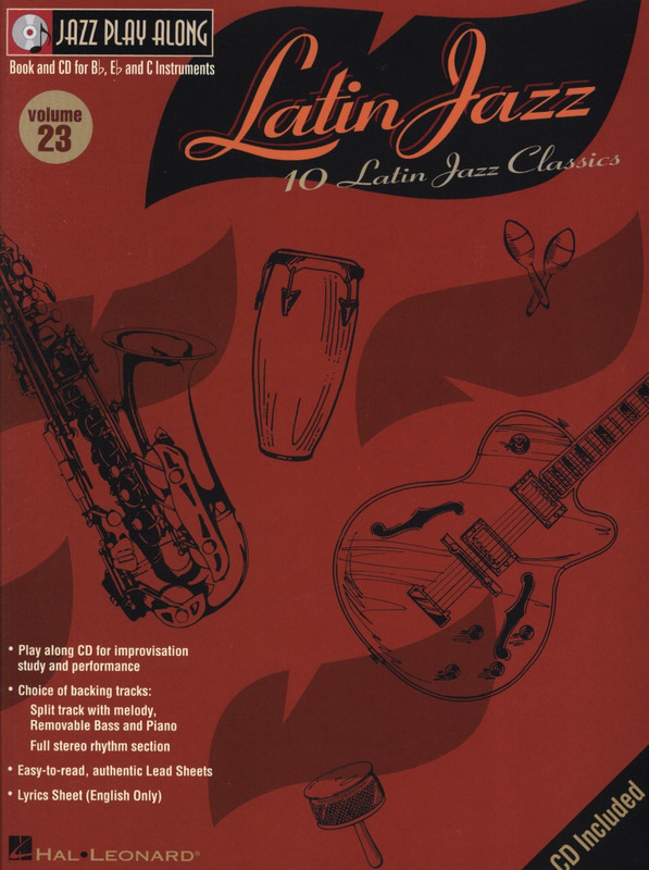 Jazz Play Along Vol.23: 10 Latin Jazz Classics. Jazz Play Along 23