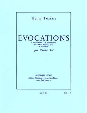 Evocations (1968). Henri Tomasi