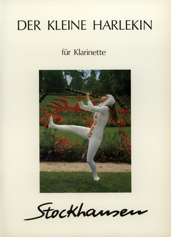DerKleineHarlekin(1975)para clarinete solo.Karlheinz Stockhausen