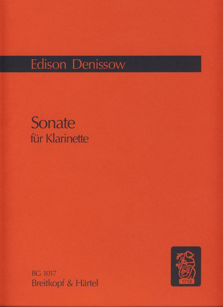 Sonate(1972)para clarinete solo.Edison Denissow
