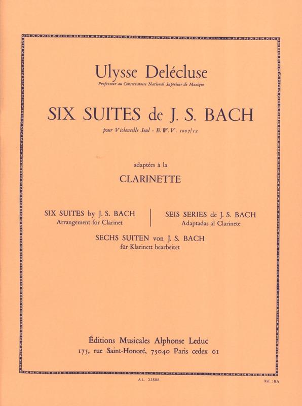 SechsSuitenpara clarinete solo.JohannSebastianBach