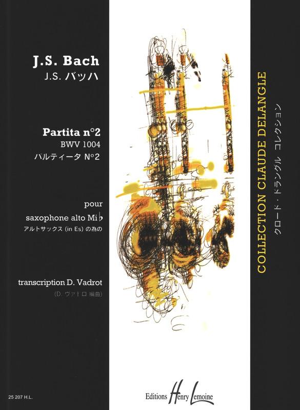 PartitaNo.2BWV1004para saxofón alto solo. JohannSebastianBach