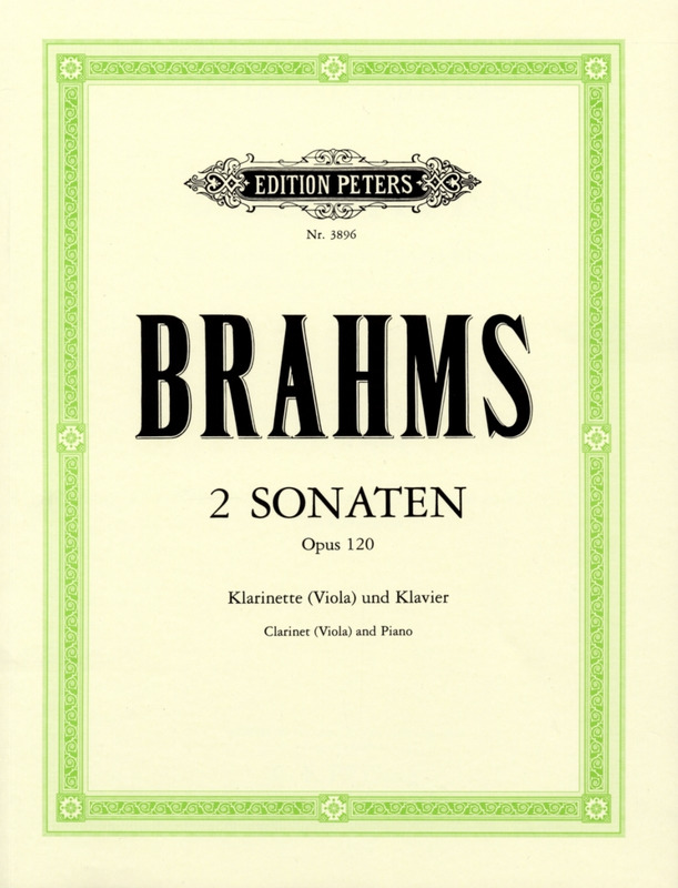Sonateop.120No.2para clarinete y piano.Johannes Brahms