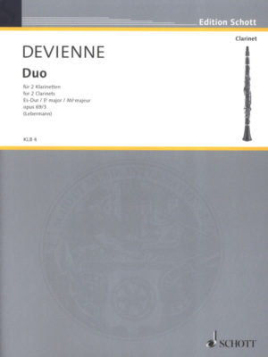 Duopara dos clarinetes. FrancoisDevienne