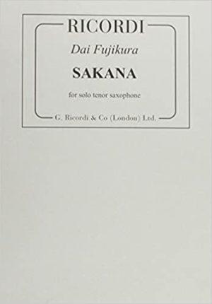 Sakana(2008)para saxofón tenor solo. Dai Fujikura