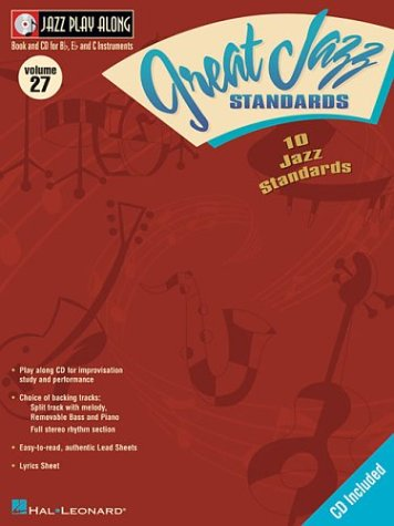JazzPlayAlongVol.27:10GreatJazzStandards. JazzPlayAlong27