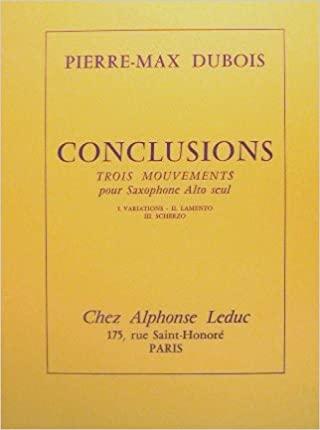 Conclusions(1978). Pierre Max Dubois