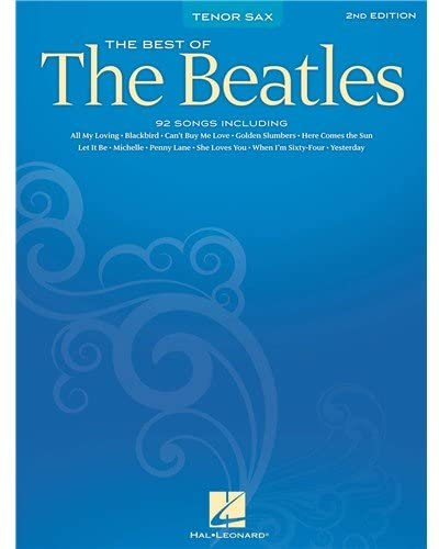 The Best of the Beatles para saxofón tenor solo. Beatles