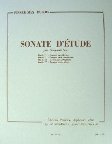 Sonated'Etude(1970) para saxofón