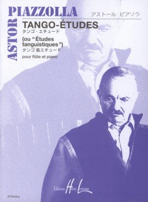 6Tango-Etudesou'Etudestanquistiques'para saxofón alto o clarinete. AstorPiazzolla
