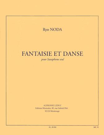FantaisieetDanse(1976)para saxofón solo.Ryo Noda
