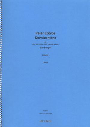 Derwischtanz(1993/2001)para clarinete en A solo. Peter Eötvös