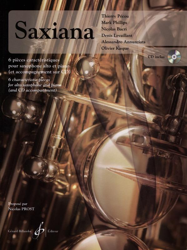 SaxianaPresto(2015) 7 piezas características para saxofón solo. NicholasProst
