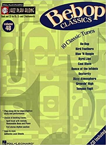 JazzPlayAlongVol.48:10BebopClassics. JazzPlayAlong48