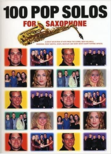 100PopSolospara saxofón.Una gran selección de éxitos de la B. PopSolos