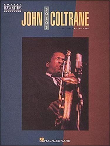 ArtistTranscriptionspara saxofón solo. JohnColtrane