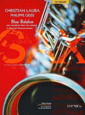 BlueBalafonpara saxofón tenor o soprano. Christian Lauba