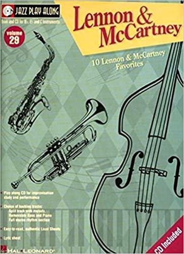 JazzPlayAlongVol.29:Lennon&McCartney. JazzPlayAlong29