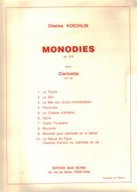 10Monodies.Charles Koechlin