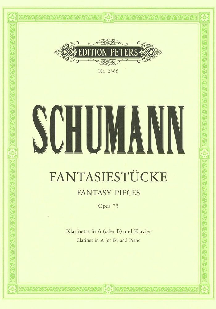 Fantasiestückeop.73. Robert Schumann