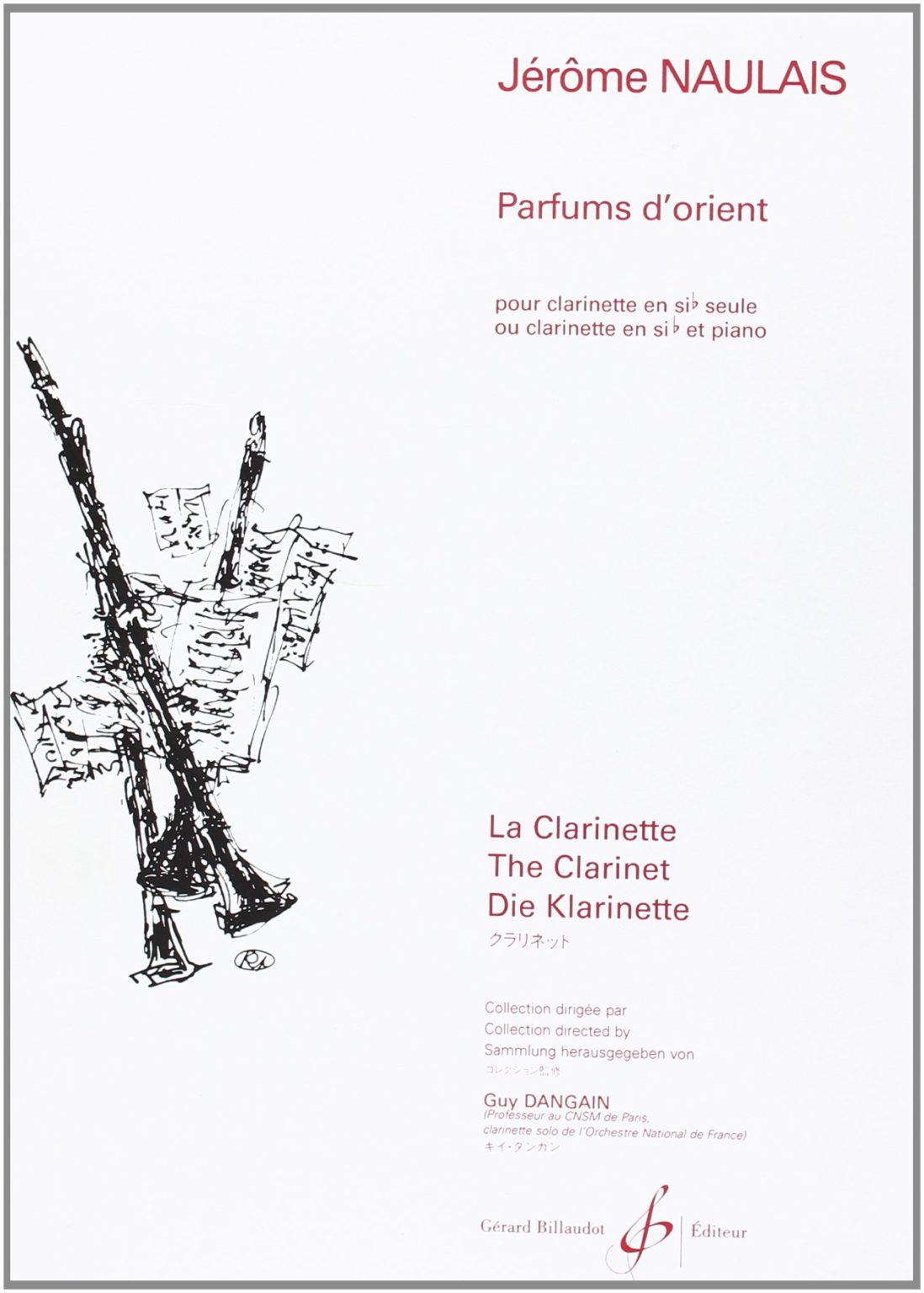 Parfumsd'Orient(2000)para clarinete solo. Jerome Naulais