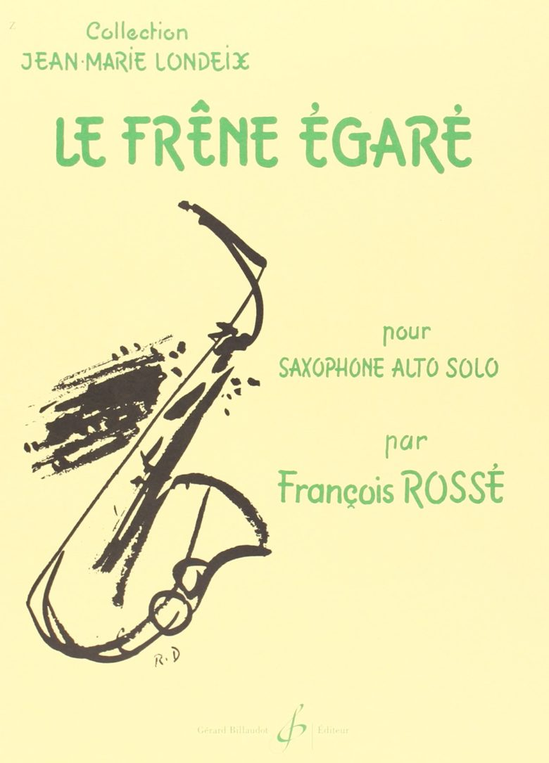 LeFreneEgare(1978/79) para saxófono alto solo. Francois Rosse