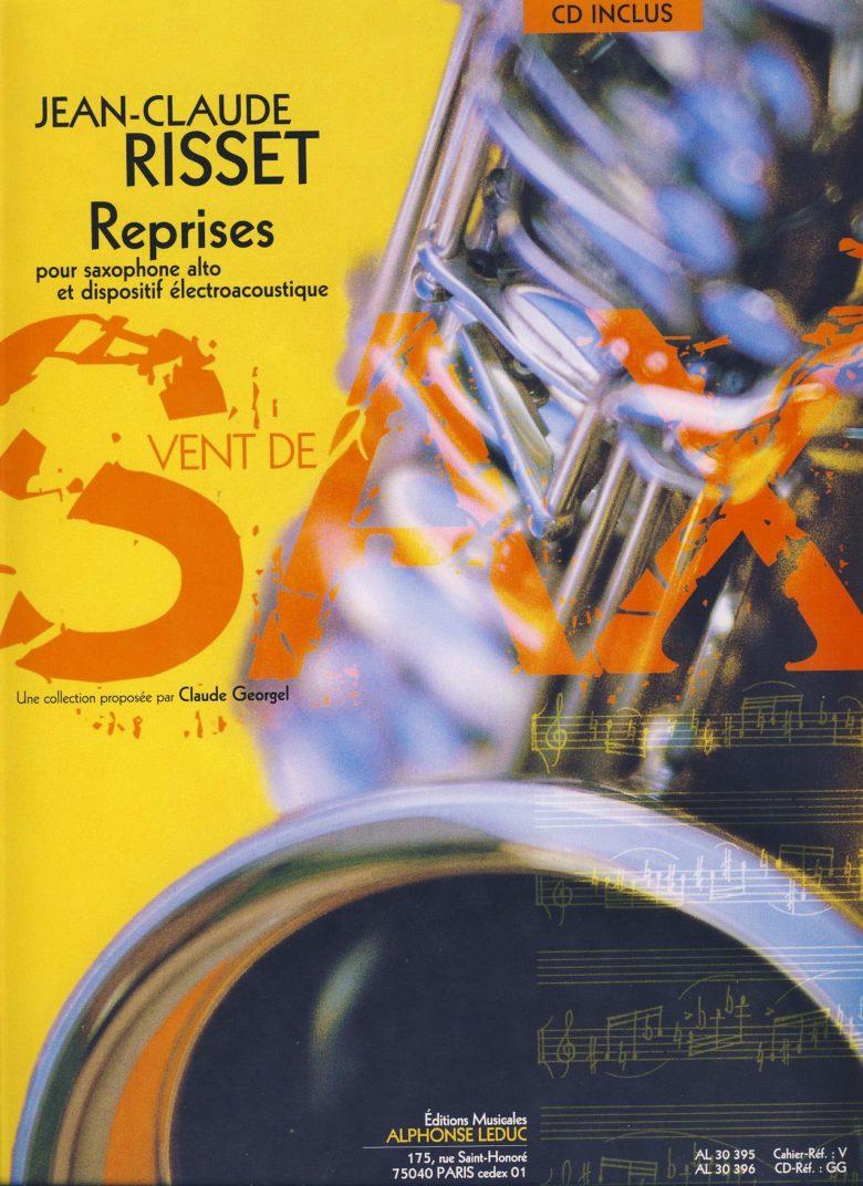 Reprises(2003)para saxofón alto. Jean-Claude Risset
