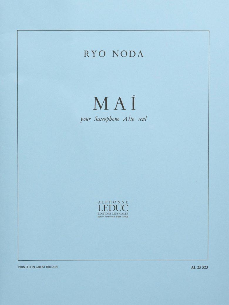 Mai Ryo Noda saxofon