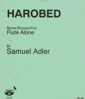 Harobed(1972) para clarinete solo. Samuel Adler